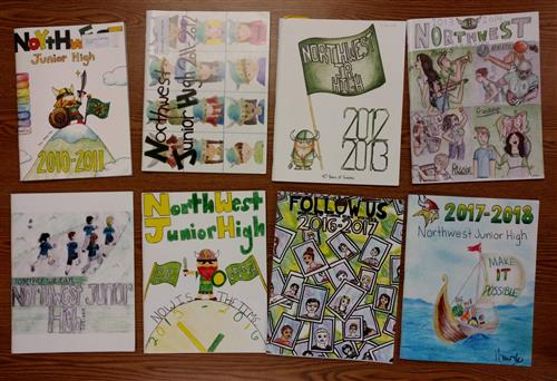 Past Yearbook Covers