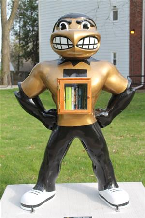 Herky Free Little Library