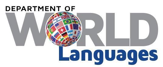 World Languages World Languages Curriculum - World language curriculum