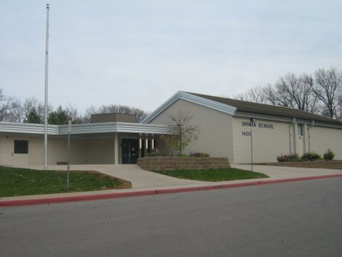 Exterior photo of Shimek Elementary