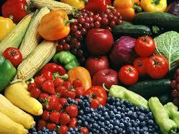 This image of fruits and vegetables will take you to the approved snack list for the District