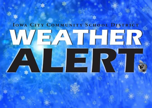 Iowa City Community School Weather Alert