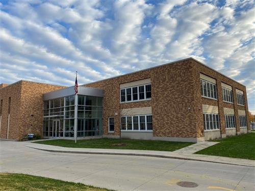 Longfellow Elementary Exterior of School