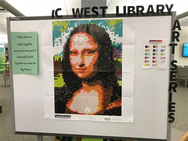 IC West Library Art Series