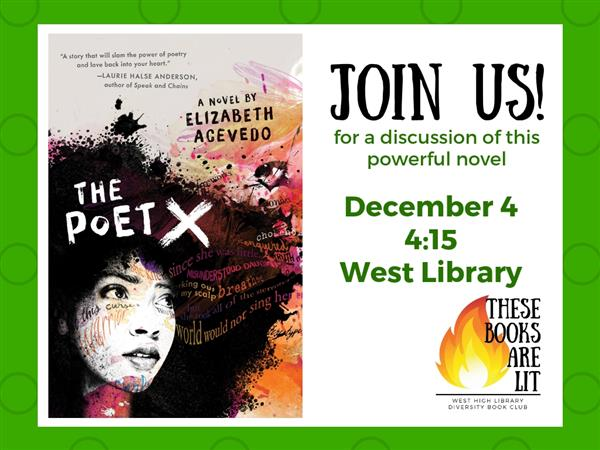 Join us for a discussion of The Poet X
