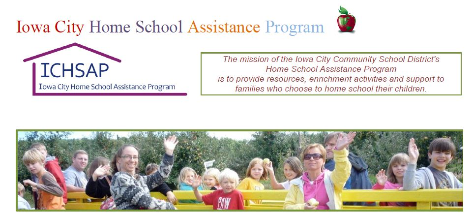 Iowa City Home School Assistance Program Logo