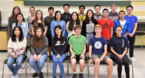 West High School National Merit Semifinalists